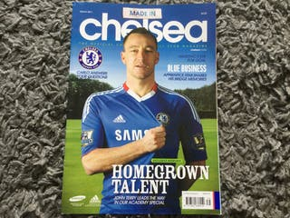 CHELSEA FC OFFICIAL MAGAZINE - March 2011