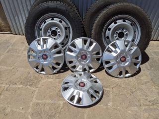 ruedas Fiat Ducato autocaravana