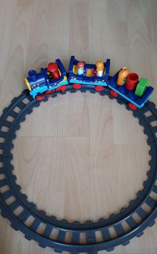 Tren playmobil 123