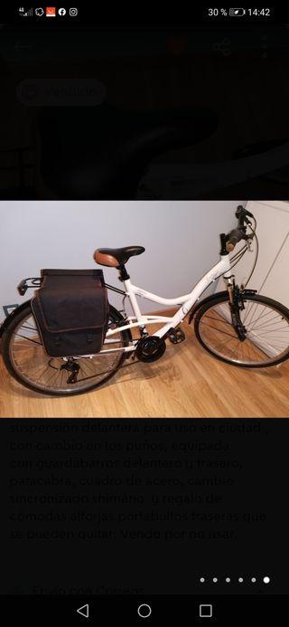 Bicicleta de paseo mujer 26