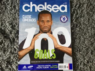 CHELSEA FC OFFICIAL MAGAZINE - May 2012