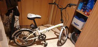 """Bicicleta Plegable Folding 20"""""""