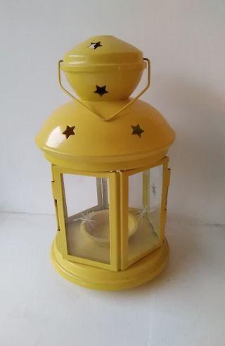 Yellow Lantern for tealight