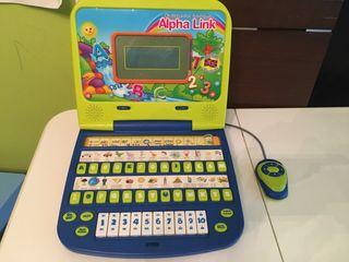Ordenador infantil interactivo Bilingüe