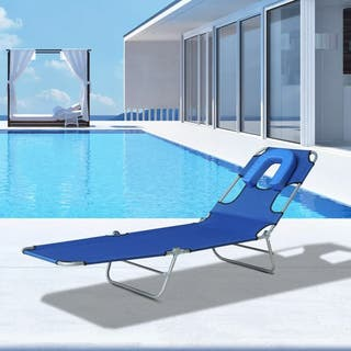 Tumbona Reclinable y Plegable para Camping Playa J