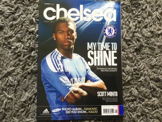 CHELSEA FC OFFICIAL MAGAZINE - October 2011