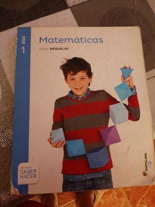 libro matematicas 1 de eso