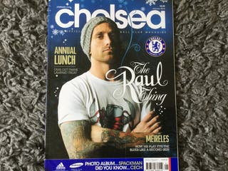 CHELSEA FC OFFICIAL MAGAZINE - January 2012