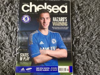 CHELSEA FC OFFICIAL MAGAZINE - August 2012