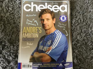 CHELSEA FC OFFICIAL MAGAZINE - August 2011
