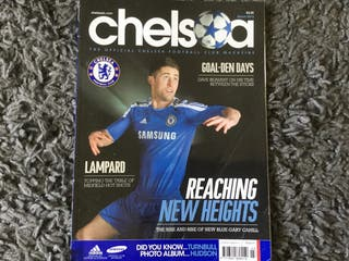 CHELSEA FC OFFICIAL MAGAZINE - March 2012