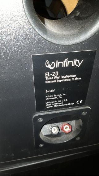 Altavoces Infinity EL 20