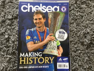 CHELSEA FC OFFICIAL MAGAZINE - July 2013