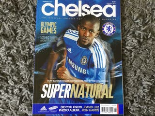 CHELSEA FC OFFICIAL MAGAZINE - February 2012