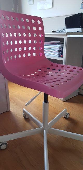 silla escritorio ikea niñ@