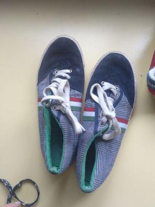 zapatillas de el Ganso