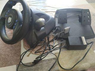 volante,y pedales