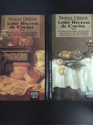 Libros clásicos de cocina