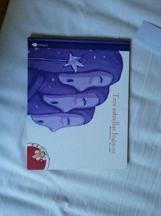 Libro infantil TRES ESTRELLAS FUGACES