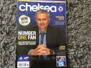 CHELSEA FC OFFICIAL MAGAZINE - August 2013