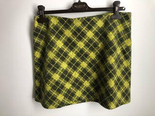 Mini falda ZARA cuadros Nueva