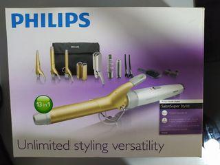 Rizador y plancha de pelo Philips
