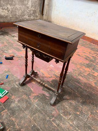 Mueble tocador antiguo madera