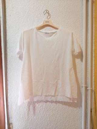 camiseta blusa zara