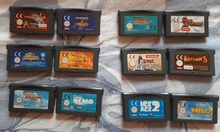 Juegos de GBA Variados Game Boy Advance SP y NDS