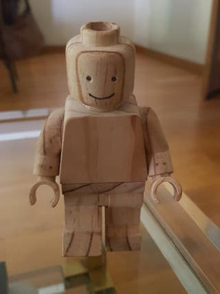 Lego decoracion madera