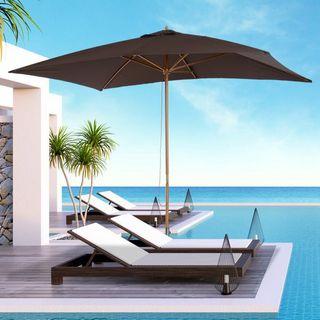 Sombrilla tipo Parasol para Terraza Patio y Jardín