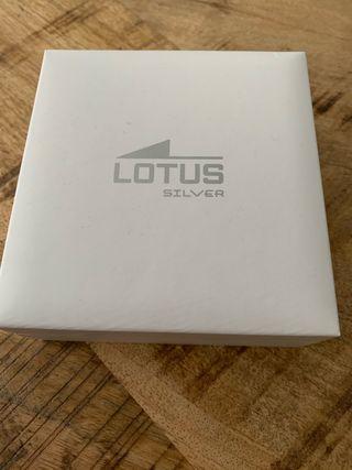 Pendientes brillantes de la marca Lotus
