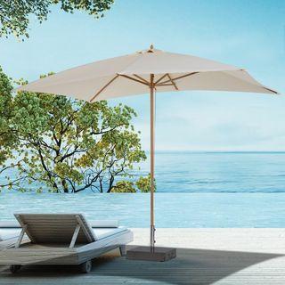 Sombrilla tipo Parasol para Terraza y Jardín - Col