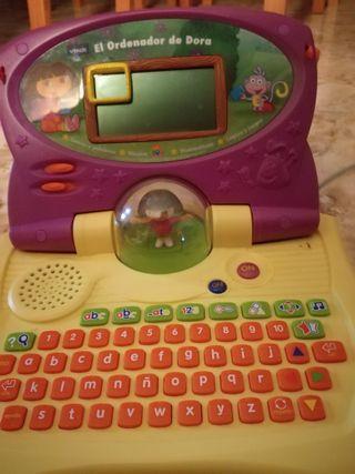 ordenador infantil Dora la exploradora