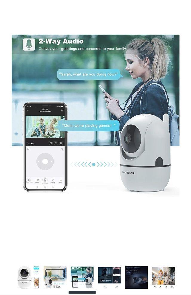 Baby Monitor, Security Camera WiFi Camera 1080 HD