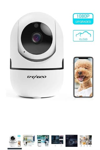 Baby Monitor, Security Camera WiFi Camera 1080 HD