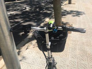 Bicicleta eléctrica y marchas