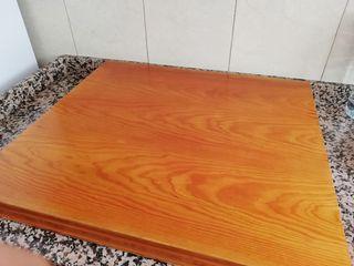 Tapa encimera madera.