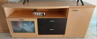 Mueble TV + estantería