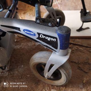 silla de ruedas batería