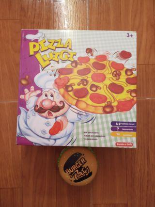 Pizza Luigi + Burguer Party