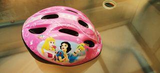 Casco Disney bicicleta niña