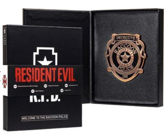 Placa Resident Evil RPD