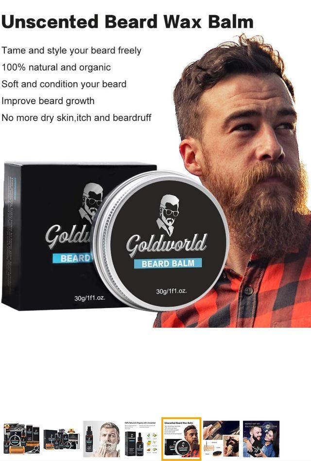 Beard Grooming Kit w/E-book,Beard Shampoo/Wash,Bea