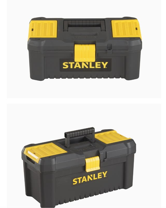 """Stanley STST1-75514""""Essential"""" 12.5"""" Toolbox with"""