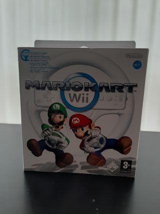 Mario Kart Wii con caja