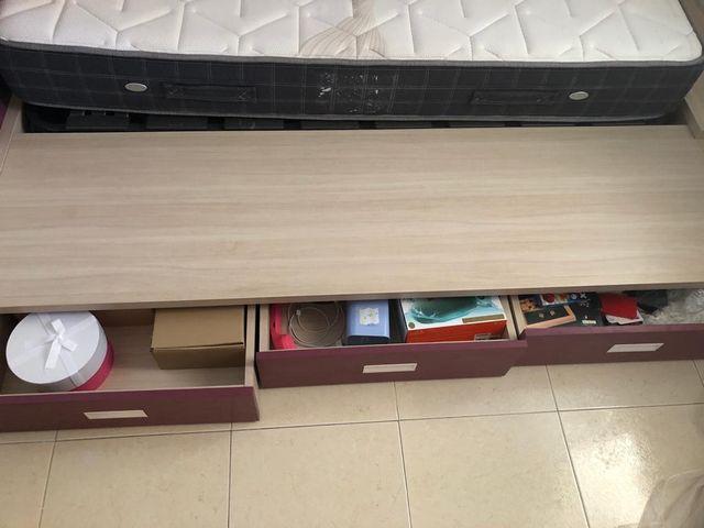 Cama juvenil diseño tatami