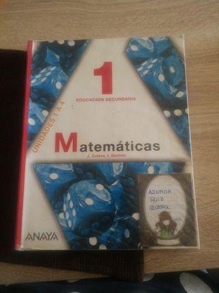 libros de texto 1° de la ESO