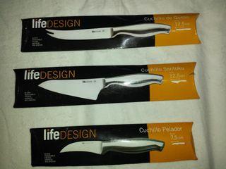 cuchillo 7 modelos life design