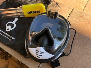 Máscara buceo Orsen para snorkel
